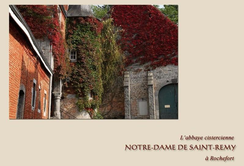 Abbaye Notre-Dame de Saint-Remy - Rochefort